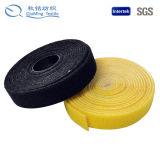 Material de nylon de la venta caliente del nuevo producto de nuevo al gancho de leva y al bucle posteriores
