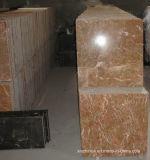 タイルまたはカウンタートップのための瑪瑙の赤い大理石の平板