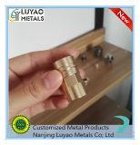 CNC 기계로 가공 고급장교 알루미늄 스테인리스에 의하여 높은 정밀도 주문을 받아서 만들어진 금관 악기 부속