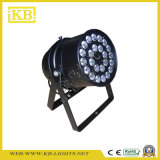 LED المرحلة إضاءة 24 * 10W 4IN1 اللون الكامل LED PAR داخلي