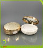 Estetiche riciclabili rotonde che impaccano la cassa compatta della polvere