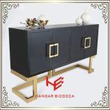 Kaffeetisch Sideboardfurniture Edelstahl-Ausgangsmöbel-Hotel-Möbel-moderner Möbel-Tisch-Tee-Tisch-Seiten-Tisch des Tisch- für Systemkonsole(RS160602)