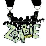 Medaglia corrente di vendita calda del metallo su ordinazione delle zombie