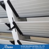 Finestra di alluminio durevole delle feritoie per la stanza da bagno