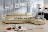 L sofà comodo di cuoio classico del sofà del cuoio di figura (HX-FZ029)