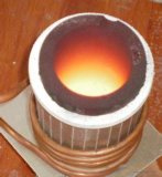 金の銀製に溶けることのための小型IGBTの誘導加熱の炉