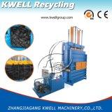 Pressa per balle verticale della gomma/macchina imballatrice pressa idraulica per il pneumatico