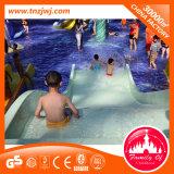 Wasser-Insel-Fiberglas-Plättchen-im Freienspielplatz-Wasser-Rollen-Plättchen mit gewundenen Plättchen