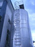 屋外の大きいミルクの貯蔵タンク