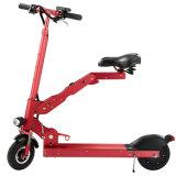 """Mini bicicleta/""""trotinette"""" de dobramento elétricos portáteis com luz do diodo emissor de luz"""