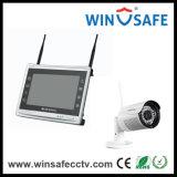 構築されるin WiFi モジュールの無線ホームセキュリティーNVRキットIPのカメラ