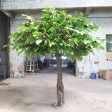 인공적인 사과 나무