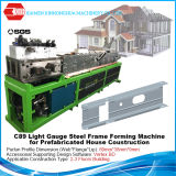 Bâti en acier de lumière préfabriquée de Chambre formant la machine avec le logiciel de création de sommet