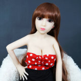 100cm愛人形の金属の骨組実質の感じの性の人形