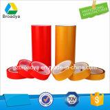 Le double rouge transparent de polyester d'animal familier de film de 150 MIC a dégrossi bande