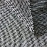 50%ポリエステル50%Viscoseウォータージェットの織機の平野によって編まれる可融性に行間に書き込むこと