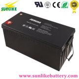 Batteria solare libera 12V200ah del gel di manutenzione per il sistema domestico solare