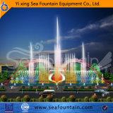 Fuente material de la boquilla 3D de la música Ss304 de los multimedia con el vario tipo del agua