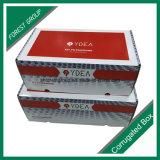 Caixas de papel de empacotamento corrugadas flauta b transporte