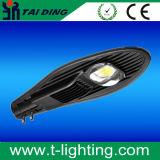 幹線路50W 100W MlBjシリーズ道ランプのためのイルカの形LEDの街灯