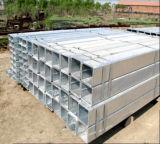 40X60m m galvanizaron el tubo de acero soldado rectángulo/el tubo de acero galvanizado para la venta