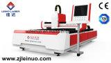 Cortador del laser de la fibra del metal del acero inoxidable del alto rendimiento 1500W