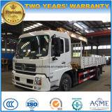 Dongfeng 4X2 6 Rad-LKW hing mit 5t XCMG Kran für Verkauf ein