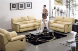 Sofá de cuero casero del Recliner