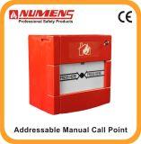 MCP eccellente del segnalatore d'incendio di incendio, punto manuale indirizzabile di chiamata (660-001)