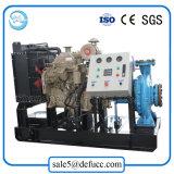 Pompe centrifuge horizontale d'irrigation d'agriculture de moteur diesel d'aspiration de fin