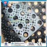 Gleitschutzantiermüdung-Gummimatte Anti-Bakterium Gummimatten-Entwässerung-Gummimatten-antibakterielle Fußboden-Matte