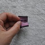 Mini formato nome che piega contrassegno tessuto per l'indumento