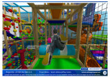 喝采Amusement 20130304-004-C-1 Junior Themed Soft Play Indoor Playground Equipment
