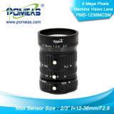 """2/3 de """" de lente da visão Fa/Machine de 5 pixéis mega"""