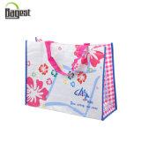 Grande sacchetto di Tote d'acquisto tessuto pp promozionale di Recycley