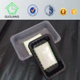 Eco freundliche verpackenfabrik-Wegwerfplastiknahrungsmittelumhüllung-Tellersegmente in Walmart