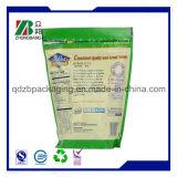 袋かプラスチックドライフルーツ袋を詰める有機性図