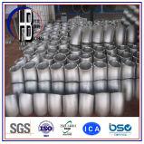 Acero inoxidable 316/304 codo soldado de las instalaciones de tuberías