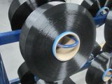 FDY poliéster preto Yarn cores 50d / 24f, SD, Dope tingido de preto