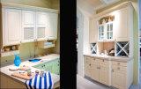 De gemengde Houten Keukenkast van pvc van de Keukenkast (zc-008)