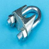Nosotros tipo clip de cuerda de alambre de acero del hierro maleable