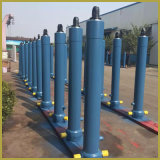 Cylindre hydraulique télescopique de quatre étapes