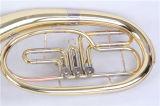 Baryton d'instrument en laiton de baryton de soupapes rotatives