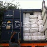 sac blanc de la farine 50kg tissé par pp avec la doublure de PE