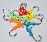 Angler-erstklassiger Spannvorrichtungs-Haken-Leitungskabel-Spannvorrichtungs-Kopf-Fischen-Köder