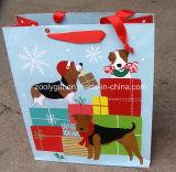 Sacoche cadeau en papier personnalisé