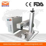 Машина Engraver уплотнения лазера миниого волокна пластичная с Ce