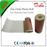 Rullo perforato del cerotto adesivo dell'ossido di zinco