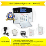 Sistema de alarme Home do assaltante da G/M com LCD (YL-007M2B)