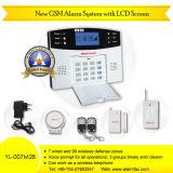 G/M Home Burglar Alarm System mit LCD (YL-007M2B)